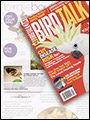 Bird Talk Magazine October 2011 featuring Wolf Art Glass Pottery Baltimore Oriole