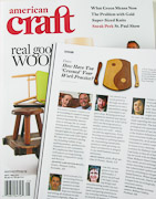 American Craft Council Magazine featuring Wolf Art Glass