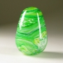 wolfartglass-blown-art-glass-paperweight-greens-5079