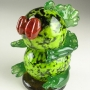 Herman the Lizard Art Glass Sculpture