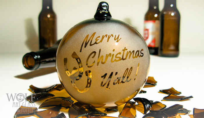 WolfArtGlass-Custom-Logo-Recycled-Beer-Bottle-Glass-Ornament-4967