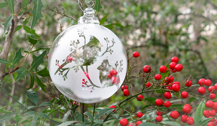 wolfartglass-cardinals-berries-etched-glass-ornament-6099