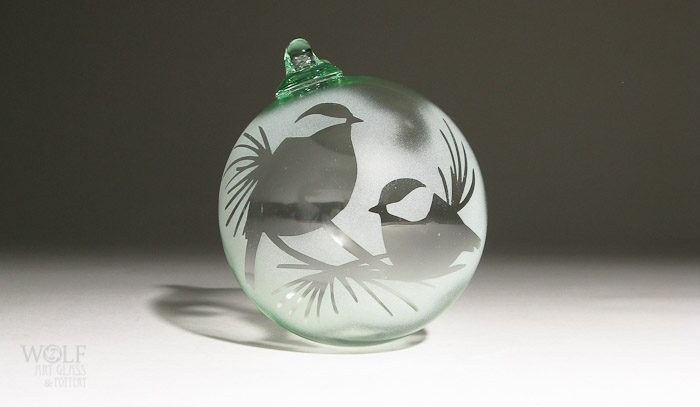wolfartglass-chickadees-in-pine-etched-recycled-bottle-glass-ornament-7005
