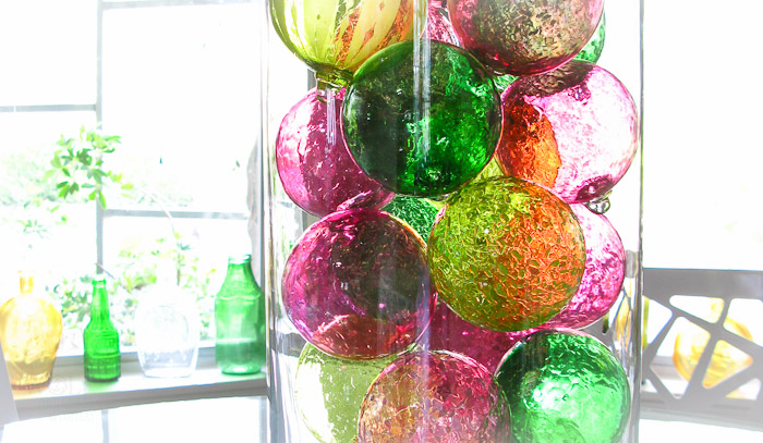 wolfartglass-lime-green-pink-blown-glass-ornament-balls-decor-4050