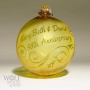 Personalized 50th Anniversary Golden Ornament