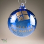 Custom Logo Etched Ornament