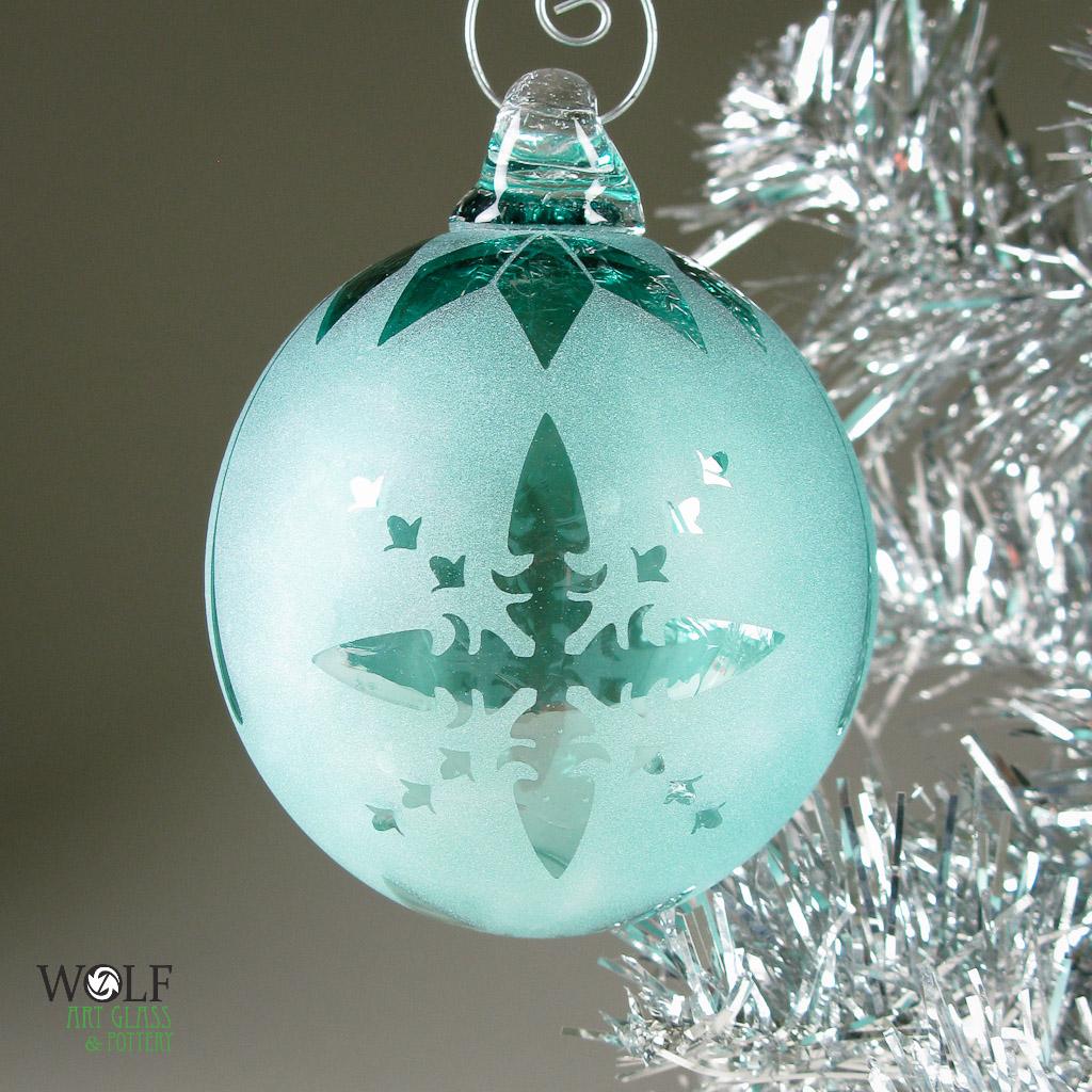 Blown Glass Ornaments And Suncatcher Balls At Blown Art