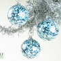 Denim Blue Granite Ornament Suncatcher