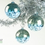 Dark Teal Blossom Ornament Suncatcher