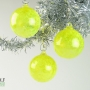 Bright Yellow Speckle Ornament Suncatcher