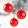 Bright Red Ornament Suncatcher