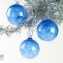 Sapphire Blue Ice Ornament Suncatcher