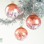 Coral Pink Blossom Ornament Suncatcher