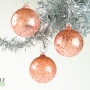 Coral Pink Ice Ornament Suncatcher