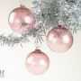 Pale Pink Ice Ornament Suncatcher