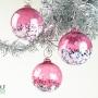 Fuchsia Pink Blossom Ornament Suncatcher