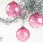 Bright Pink Fuchsia Ice Ornament Suncatcher