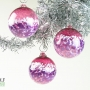 Deep Pink White and Purple Amethyst Ornament Suncatcher