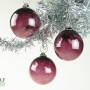 Aubergine Dark Purple Ornament Suncatcher