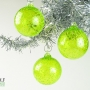 Neon Lime Green Ice Ornament Suncatcher