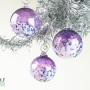 Amethyst Purple Blossom Ornament Suncatcher
