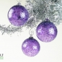 Amethyst Purple Ice Ornament Suncatcher