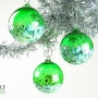 Emerald Green Blossom Ornament Suncatcher