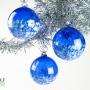 Sapphire Blue Blossom Ornament Suncatcher