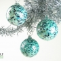 Teal Granite Ornament Suncatcher