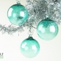 Teal Blue Green Ornament Suncatcher