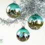 Sea Blue Green and Amber Ornament Suncatcher