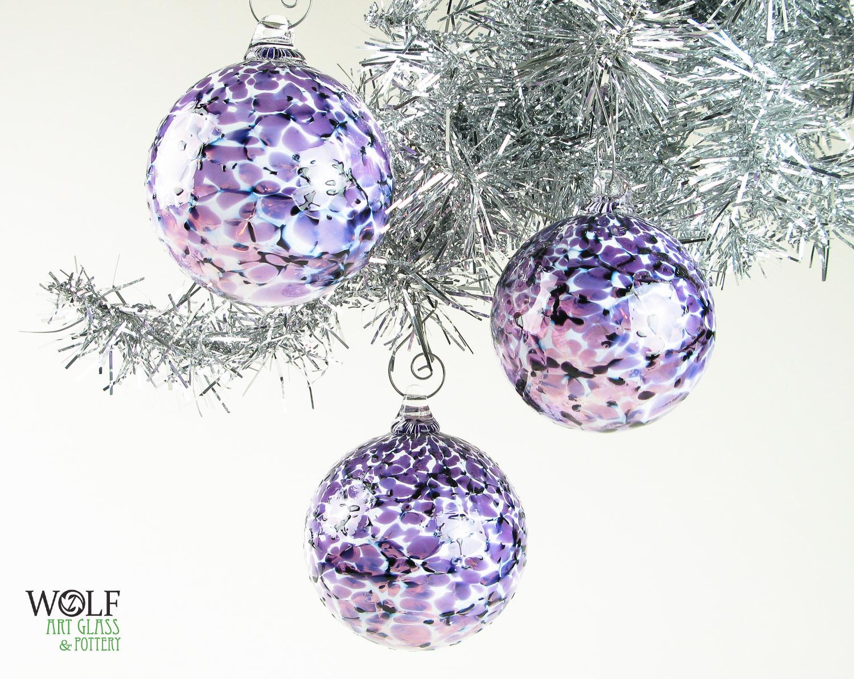 Wolf Christmas Ornament