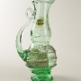 Blown Recycled Glass Art Pitcher Sculpture