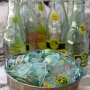 Recycled Topo Chico Glass Bottles for Glass Blowing
