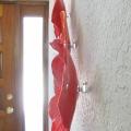 Ceramic Poppy Wall Art Hanging Hardware