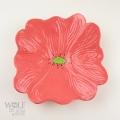 Honeysuckle Pink Ceramic Wall Art