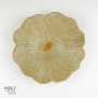 Soft Natural Stone Ceramic Poppy Wall Art