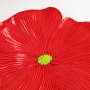 WolfArtGlass-ceramic-poppy-wall-art-flower-cherry-red-5363