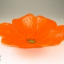 Orange Poppy Ceramic Wall Art
