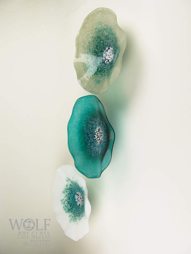 Blown Glass Wall Art Sculptures Flowers Amp Rondels At