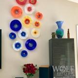 Customer Poppy Flower Installation