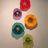 Customer Install: Bright Red, Amethyst Purple, Saffron Yellow, Turquoise Teal, Lemon Lime Poppy Flowers