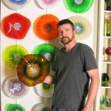Dean Wolf of Wolf Art Glass