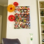 Custom Orange and Red Poppies Wall Art