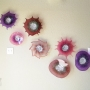 Amethyst, Fuchsia, Aubergine Glass Wall Art Collection