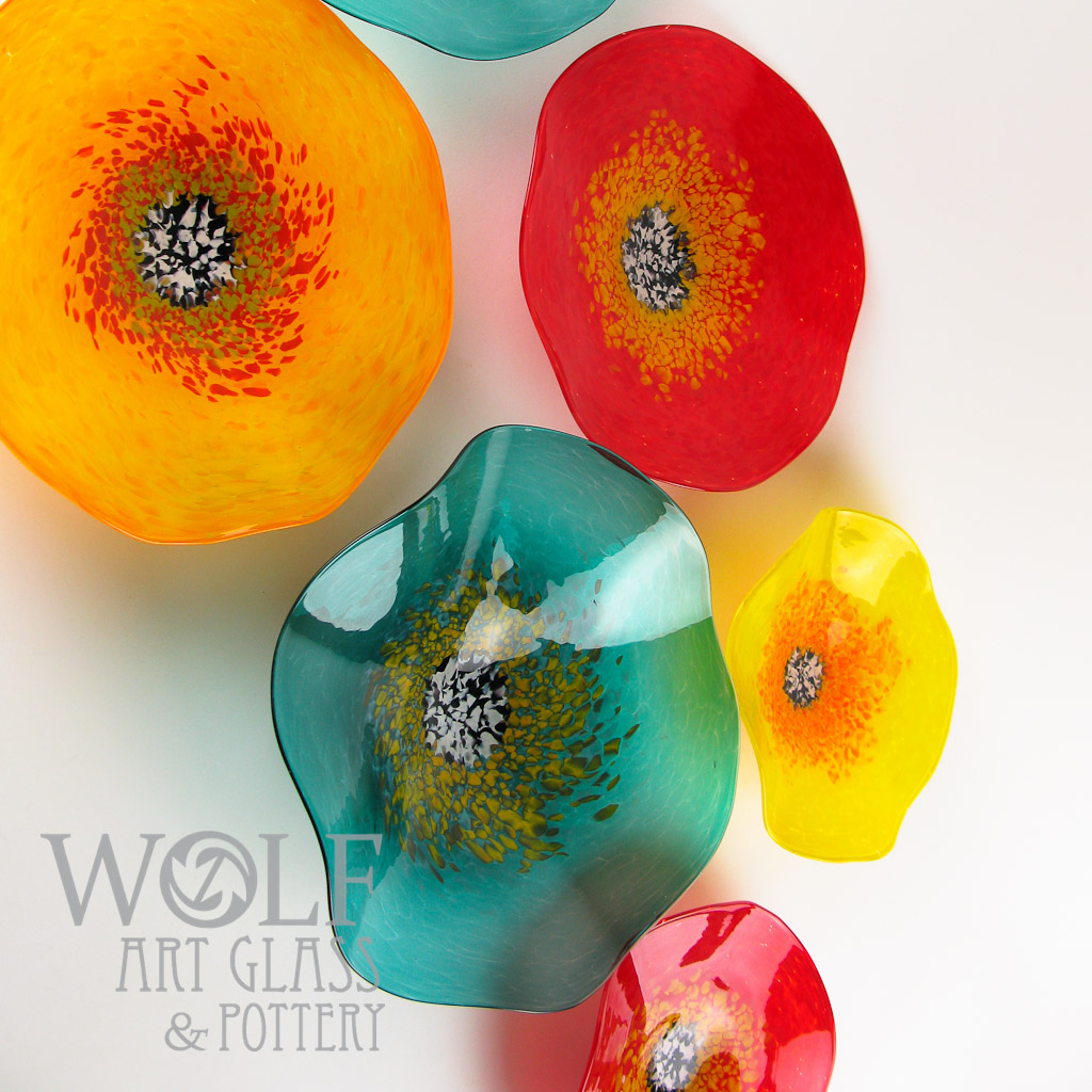 Blown Glass Wall Art Glass Ornaments and Blown Recycled Bottle Glass Gifts @ Wolf Art Glass of Austin Texas & Blown Glass Wall Art Glass Ornaments and Blown Recycled Bottle ...